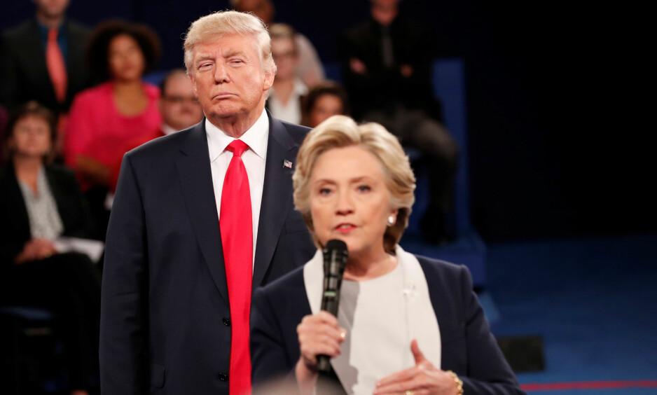VANT: Donald Trump vant valget og blir USAs neste president, ment Hillary Clinton fikk flest stemmer. Foto: REUTERS / Rick Wilking / File Photo / NTB scanpix