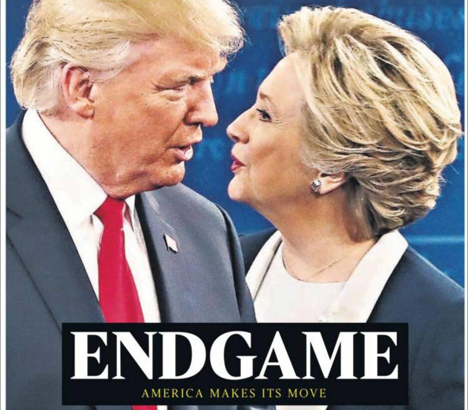 SLUTTEN: Det er slutt på leken, melder The Times. Og mange vil nok være enige i det.