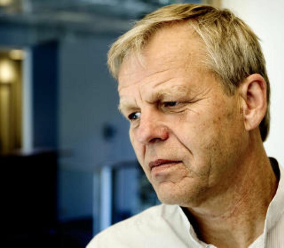 ADVARER: Svein Lie, fylkeslege i Vestfold, er svært lite begeistret for å ha Hamer aktiv i sitt distrikt. Nå har han igangsatt en prosess for å få til en politisak mot den lisensløse legen. Foto: ØISTEIN NORUM MONSEN/DAGBLADET