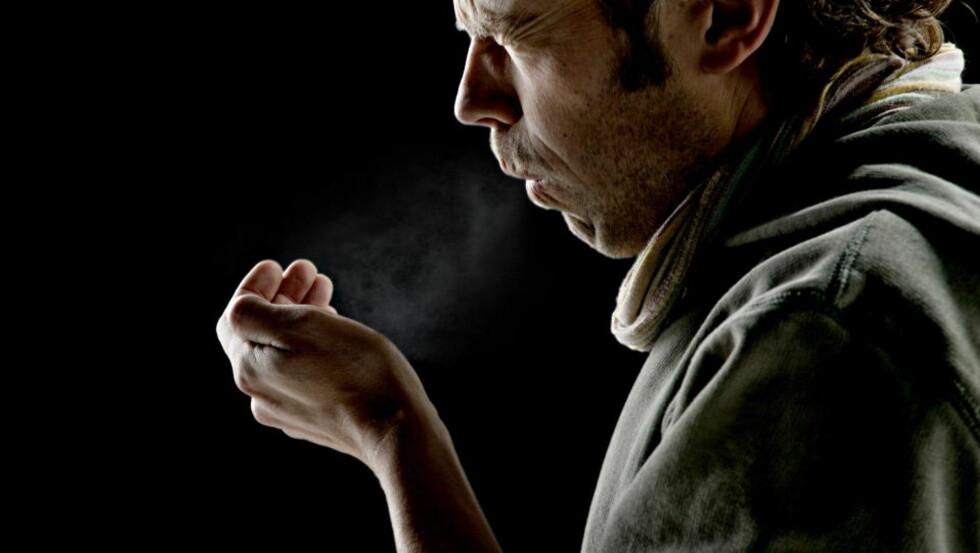 KLAR SAMMENHENG: En vitenskapelig gjennomgang av forskningslitteratur avslører at stress mer enn dobler risikoen for forkjølelse og influensa. Foto: Krister Sørbø / Dagbladet
