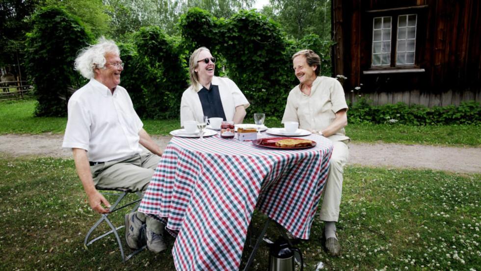 SAMTALE: Herman Willis har skrevet samtalebok med Dag Solstad og Kjartan Fløgstad.  Foto: Lars Myhren Holand / Dagbladet
