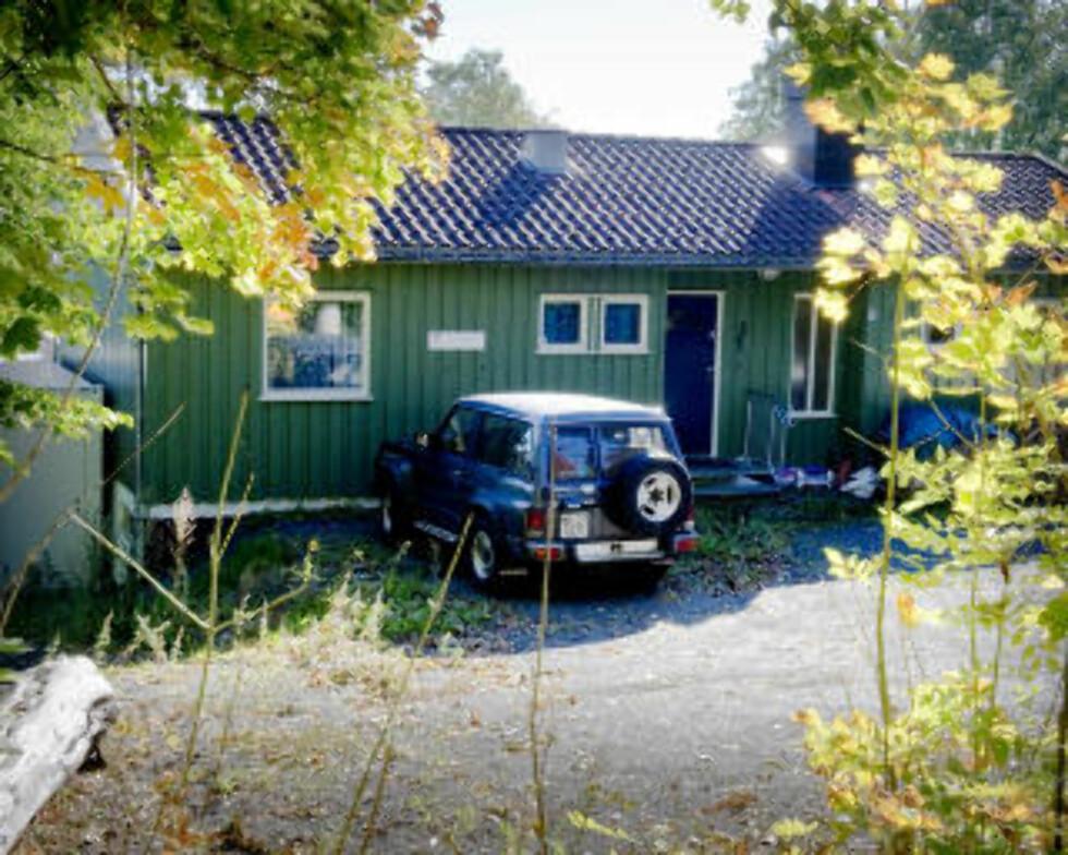 «UNIVERSITET»: Dette huset i Sandefjord rommer både Hamers bopel og «Universitet Sandefjord». Foto: ØISTEIN NORUM MONSEN