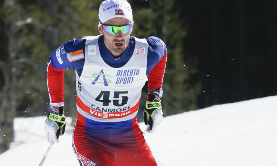 COMEBACK: Hans Christer Holund konkurrerer på Beitostølen neste helg. Foto: Terje Pedersen / NTB Scanpix