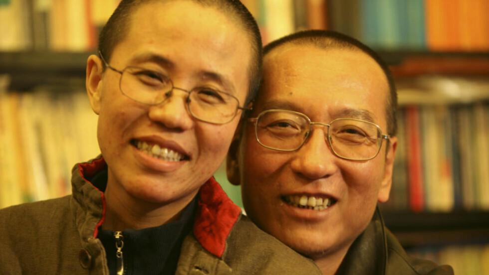 HAR MØTT MANNEN: Liu Xia har møtt ektemannen og årets Fredsprisvinner, som sitter fengslet. Til Dagbladet forteller hun at hun er satt i husarrest. Foto: Privat/Reuters/Scanpix