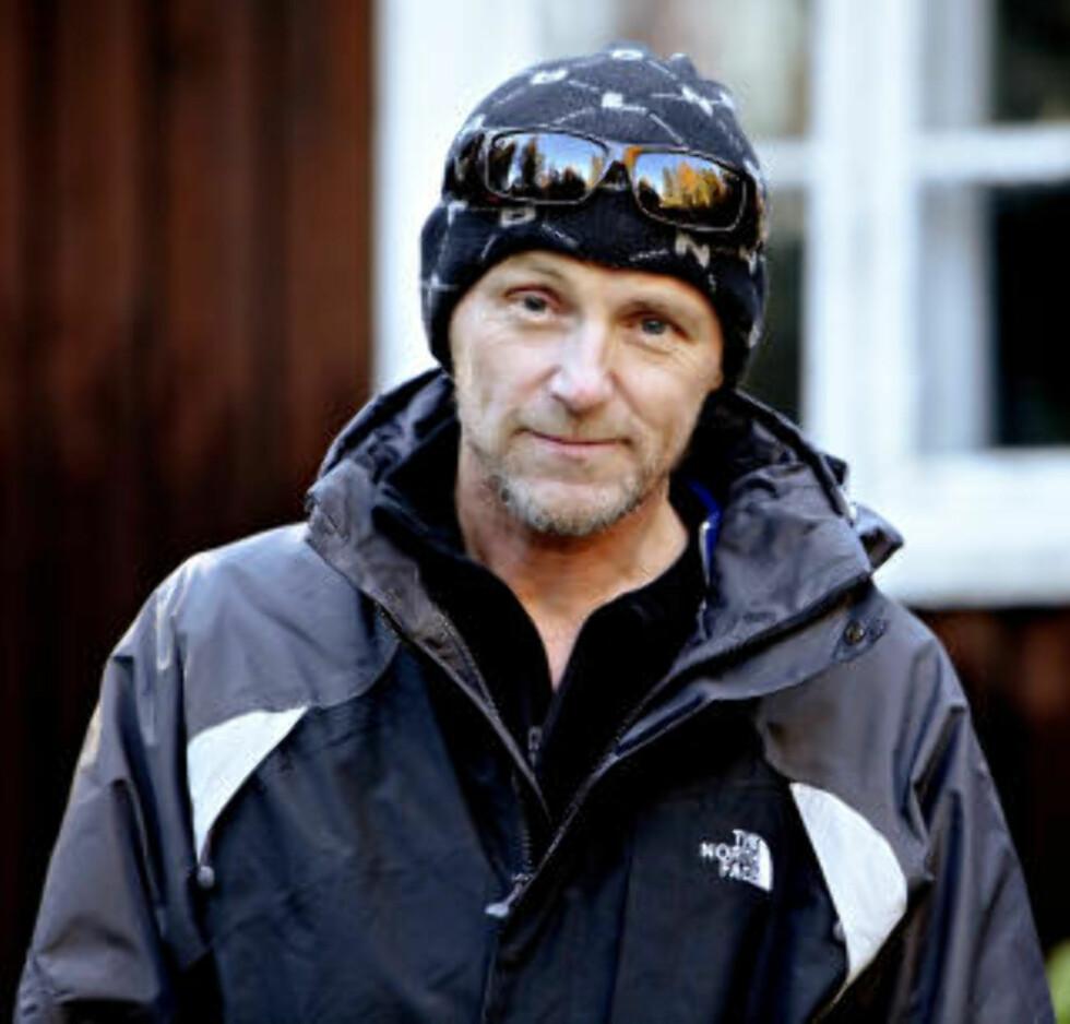 FORFATTEREN: Jo Nesbø sier at den Harry Hole han ser for seg ikke finnes i virkeligheten. Foto: Lars Eivind Bones