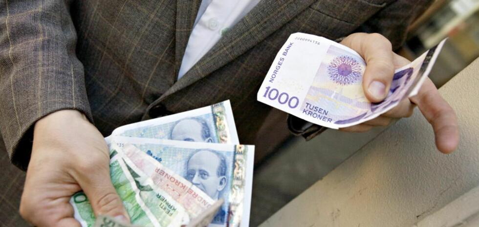 FOR DÅRLIGE RUTINER: Finanstilsynet er ikke fornøyd med bankenes håndetering av hvitvaskingsloven som ble innført i fjor.  Arkivfoto: TORBJØRN GRØNNING