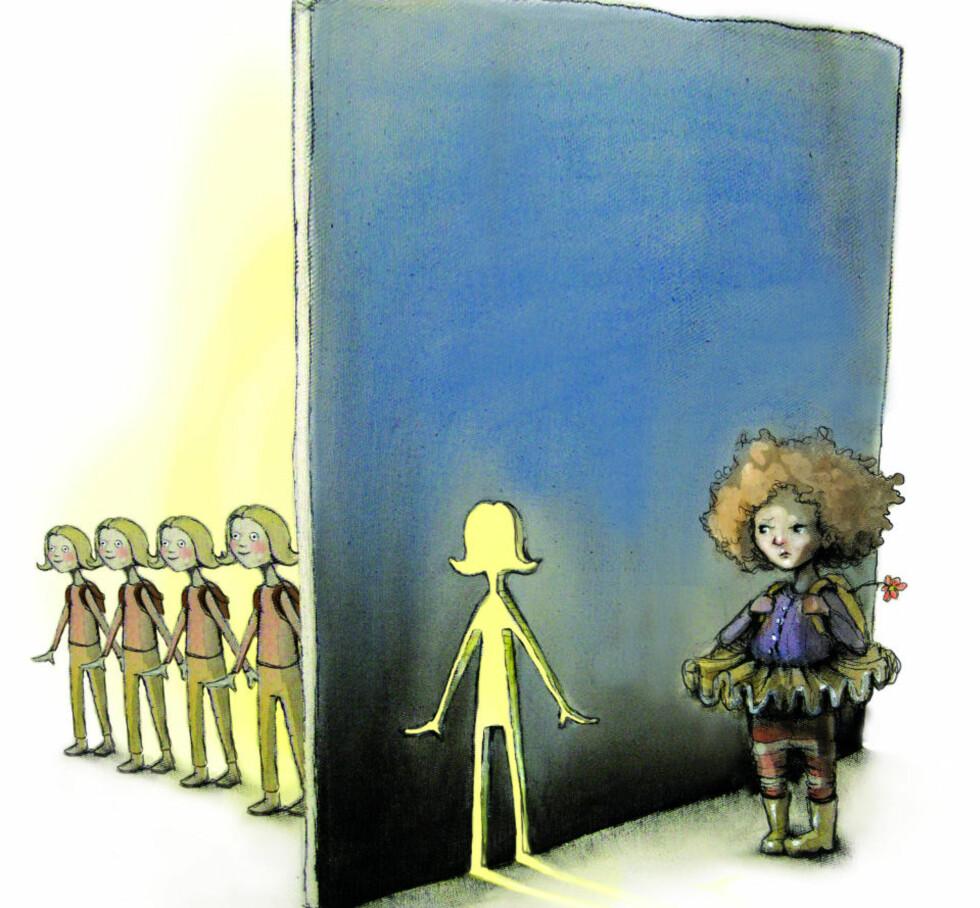 Illustrasjon: Lisa Aisato.