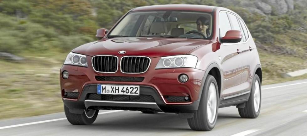 ROMSLIG: BMW X3.