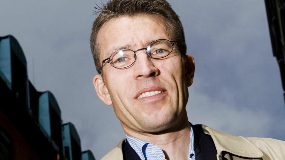 THRILLER: Eirik Wekre er tilbake med en ny thriller om PST-etterforsker Hege Tønnesen. Foto: HEIKO JUNGE