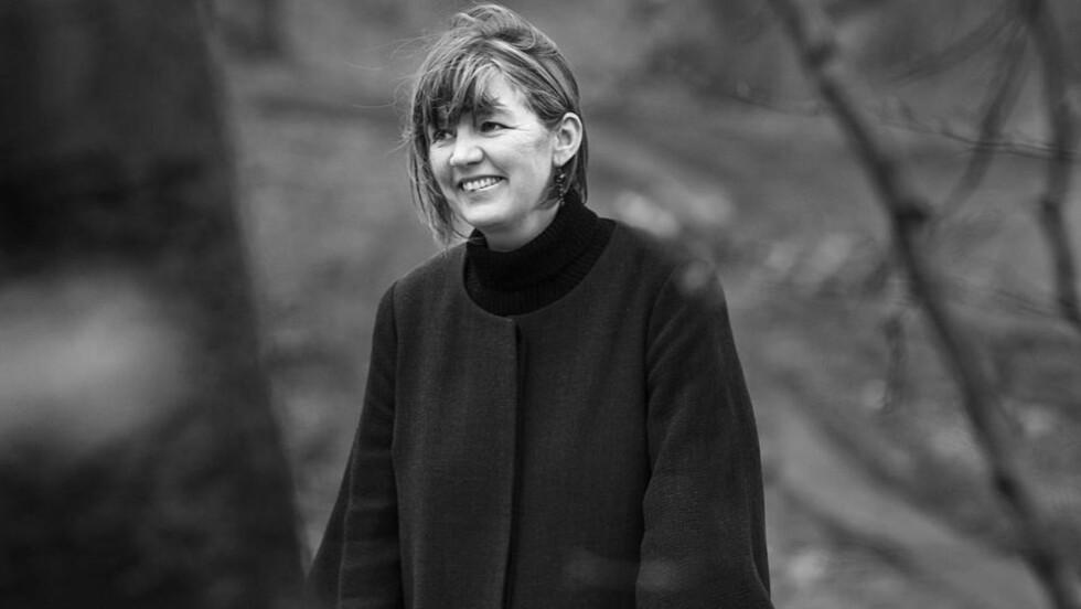 PRISBELØNT: Danske Pia Juul fikk en stor litteraturpris for sin nesten-krim, «Mordet på Halland». Foto: SAMLAGET