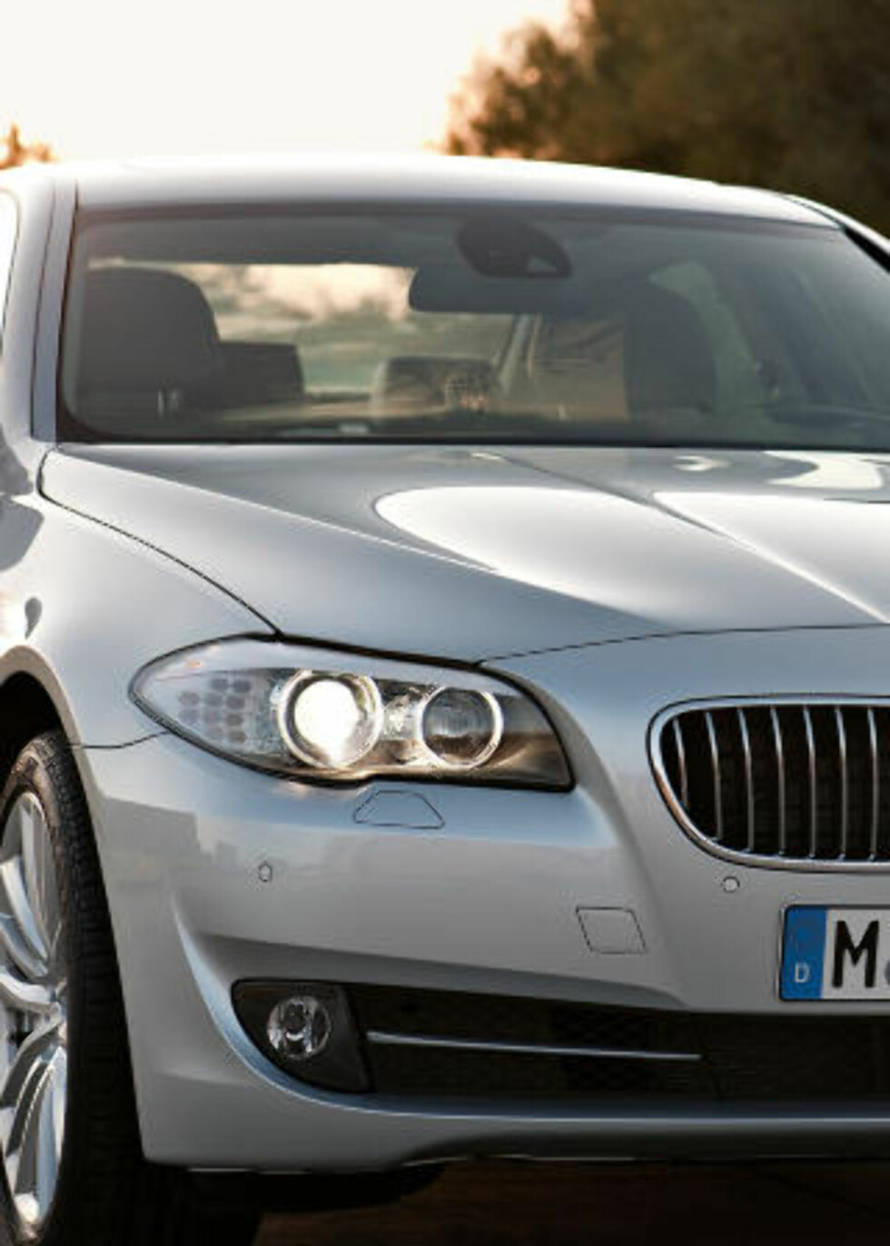 NORSK FAVORITT: 5-serien kombinerer BMWs sportslige image med forbedret komfort. Foto: SCANPIX
