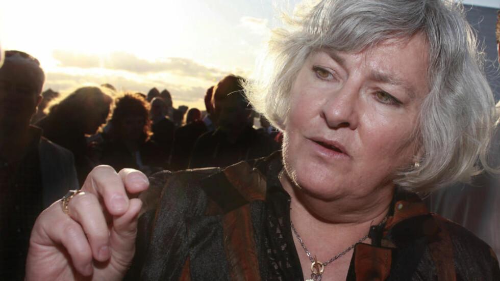 BANNBULLE: Nina Karin Monsen har skrevet et kristent bekjennelsesskrift, der hennes motstandere får det glatte lag. Foto: Hans Arne Vedlog