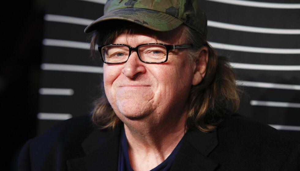 MÅLBÆRER MANGES MENING: Filmskaper Michael Moores Facebook-post deles av ekstremt mange. Foto: Andy Kropa / AP / NTB Scanpix