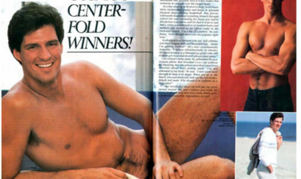 MEST SEXY: I 1982 ble jusstudenten Scott Brown kåret til USAs mest sexy mann i damebladet Cosmopolitan. Nå kan han true hele Obamas politiske agenda.  Faksimile: Cosmopolitan