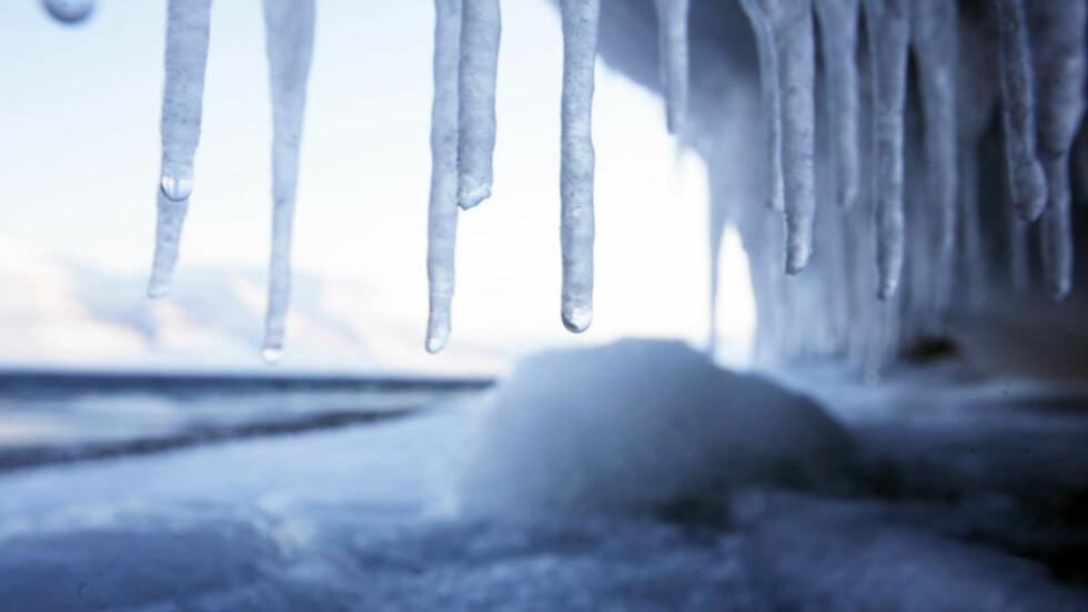KALDT, MEN LIKEVEL VARMERE: Den kalde norske vinteren betyr ikke at den global oppvarmingen er avlyst, sier forskere. Men Greenpeace omdøper den til klimaendringer for å gjøre livet litt vanskeligere for klimaskeptikerne. Illustrasjonsfoto: AP/SCANPIX.