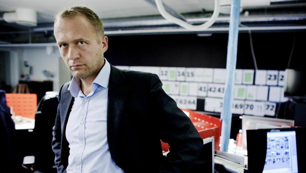 SIER OGSÅ OPP: Dagbladets kultur- og debattredaktør Peter Raaum slutter i Dagbladet.    Foto: Torbjørn Grønning  / Dagbladet