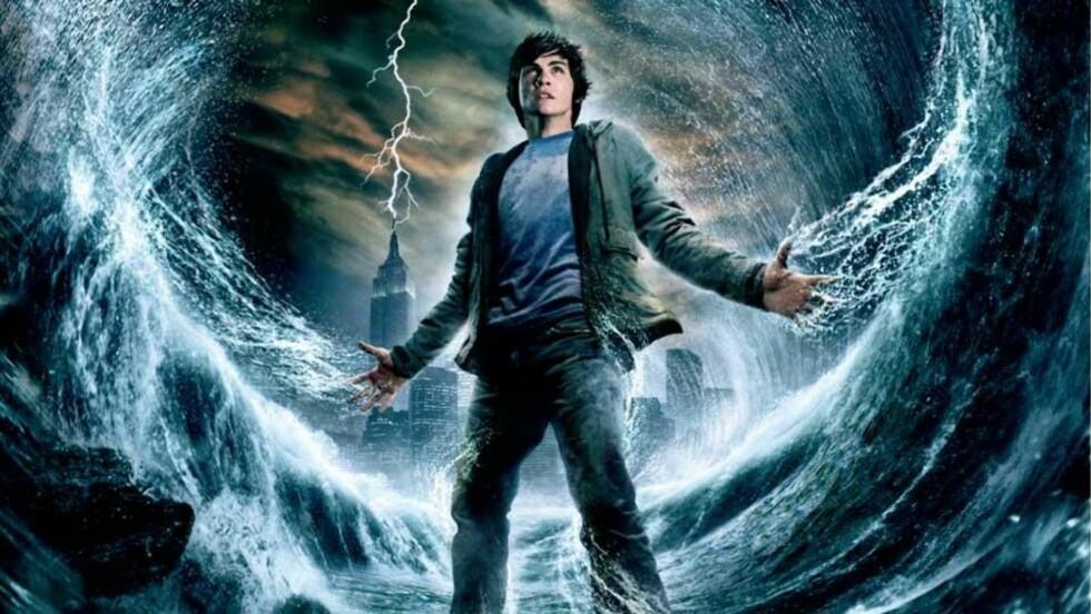 LEKKER TIDLIG: Filmer som «Percy Jackson & lyntyven» er blant filmene som er tilgjengelig på flere streamingtjenester på nett. Vedkommende som har lagt den ut har brutt loven - men du gjør det ikke om du velger å se den.