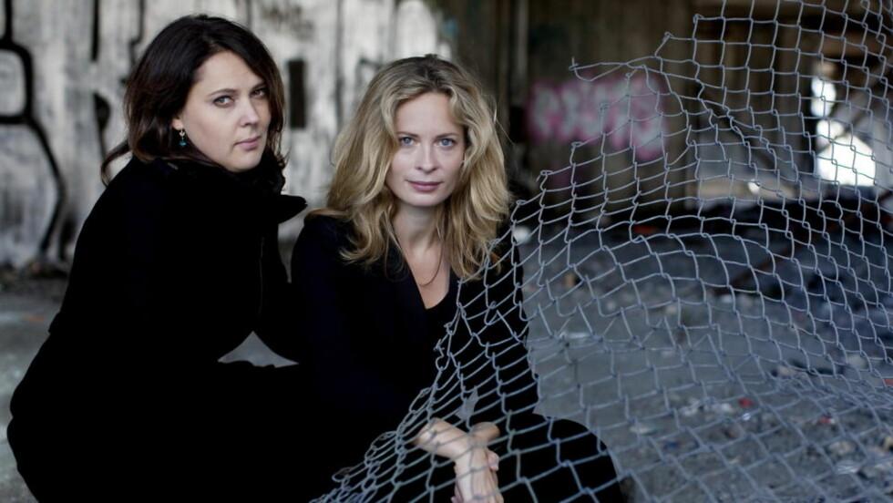 NOMINERT: De er begge nominert til Kanonprisen for filmen «Engelen»: Margreth Olin (til venstre) i kategorien «Beste regi» og Maria Bonnevie i kategorien «Beste kvinnelige hovedrolle».   Foto: Espen Røst / Dagbladet