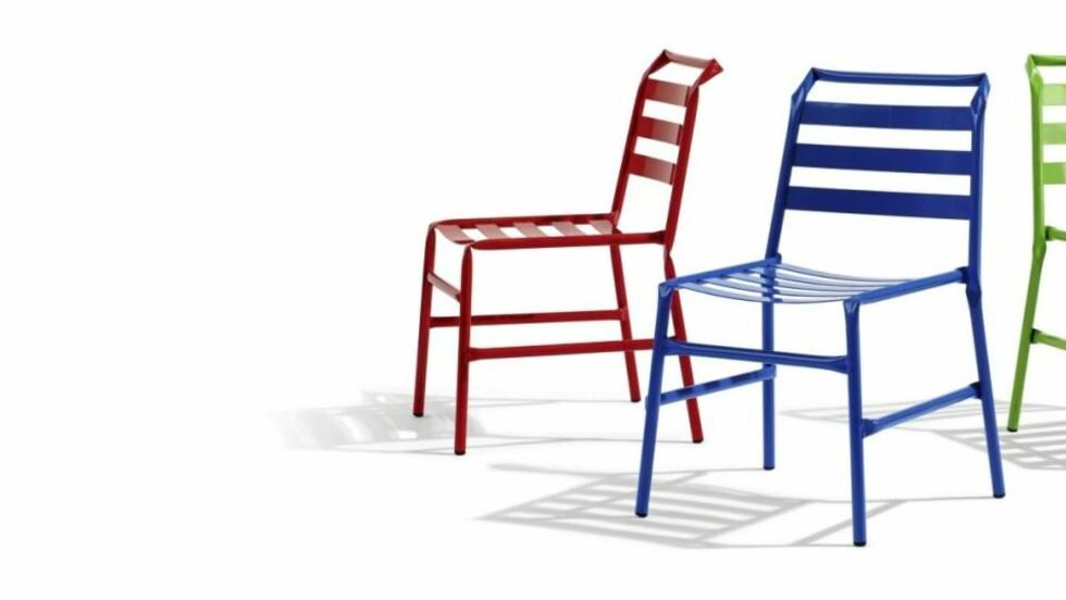 """NY KNEKK: """"Straw Chair"""", designet av osko+deichmann for Blå Station Foto: Produsenten"""