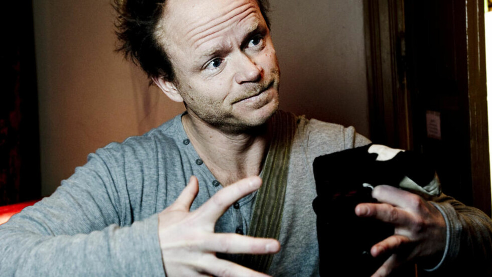 PREMIERE I GÅR: Harald Eias nye serie «Hjernevask». Foto: Thomas Rasmus Skaug / Dagbladet