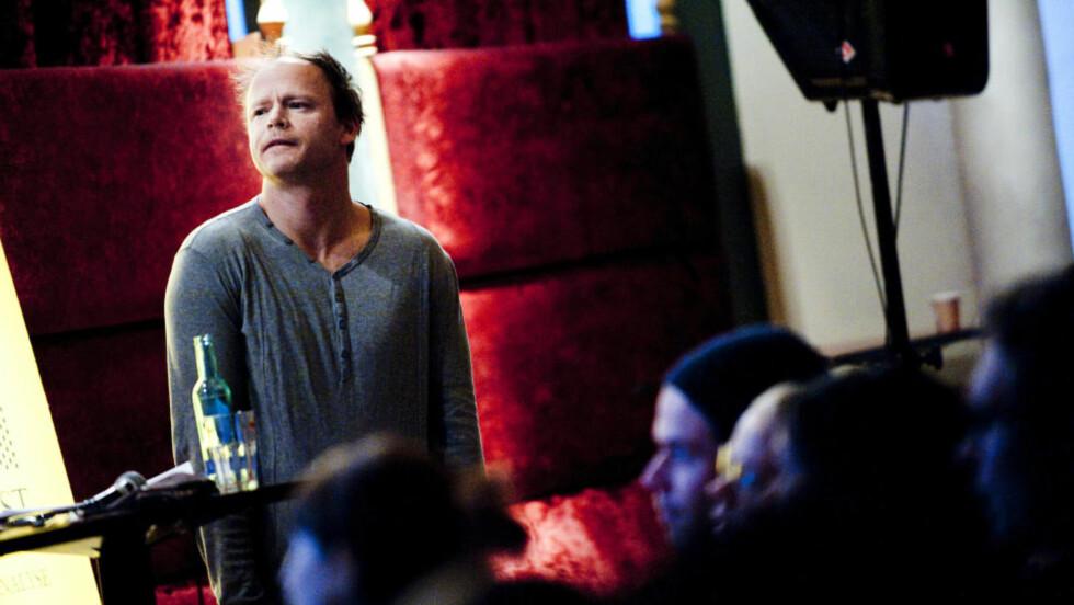 «HJERNEVASK»: Debatten rundt Harald Eias tv-serie fortsetter.  Foto: Thomas Rasmus Skaug / Dagbladet