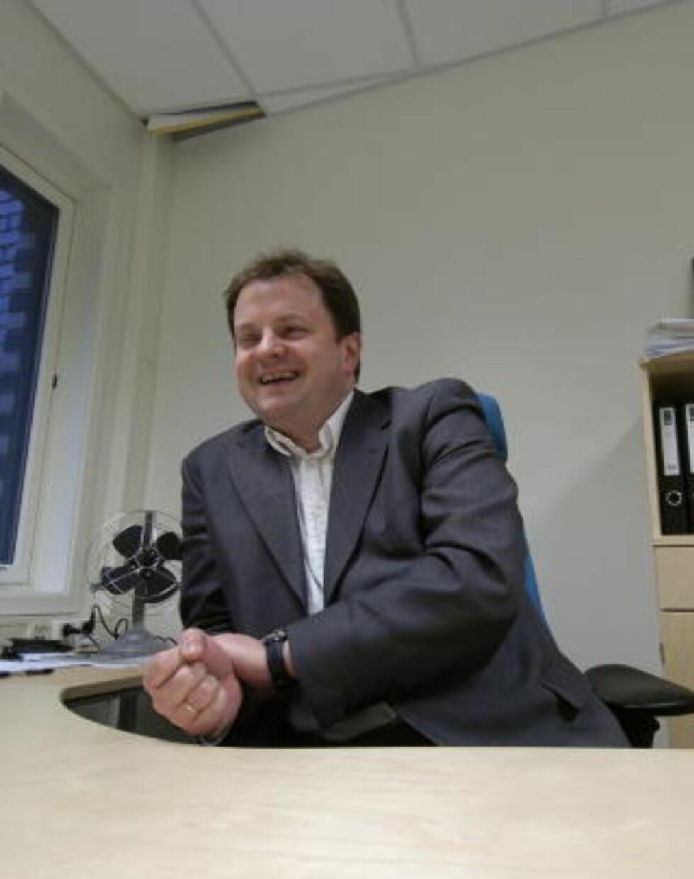 HAR BETYDD MYE: Det mener medieforsker Arne Krumsvik. Foto: EIK,ROBERT S.