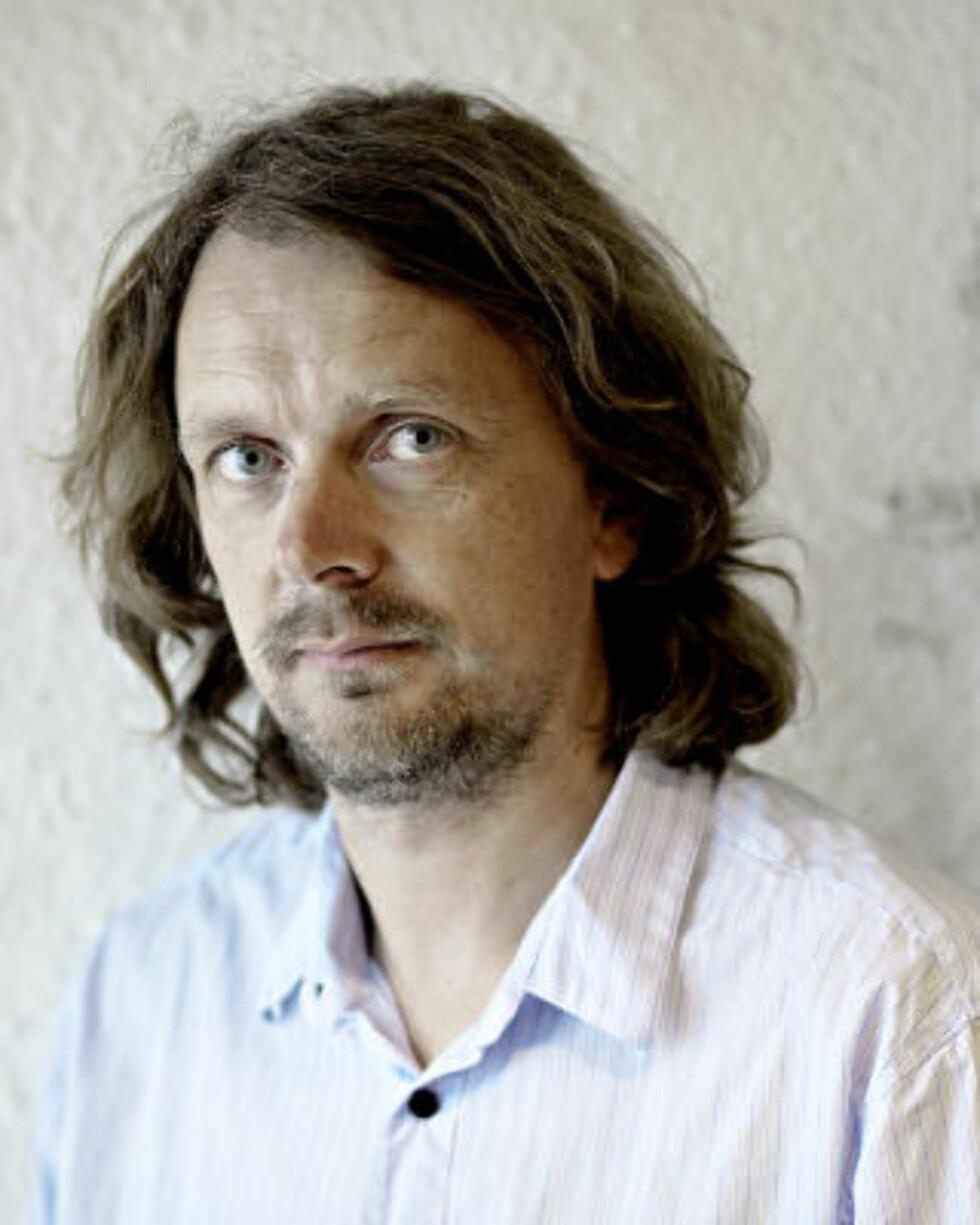 REDESIGNER IGJEN: Jon R. Hammerfjeld, kanalsjef i Dagbladets nettutgave, jobber nå med den nye looken som skal komme i april. Foto: Lars Eivind Bones / Dagbladet