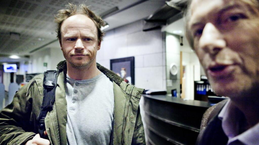 40-ÅRSKRISE?: Harald Eia og resten av redaksjonen i «Hjernevask» skal gå gjennom programmene etter at kjønnsforsker Jørgen L. Lorentzen (til høyre) har protestert og krevd endringer. FOTO: NINA HANSEN