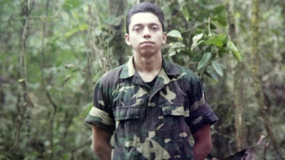 SERSJANT: Pablo Moncayo blir nå en fri mann igjen, etter å ha sittet fanget hos FARC i 12 år. Foto: EPA/Scanpix