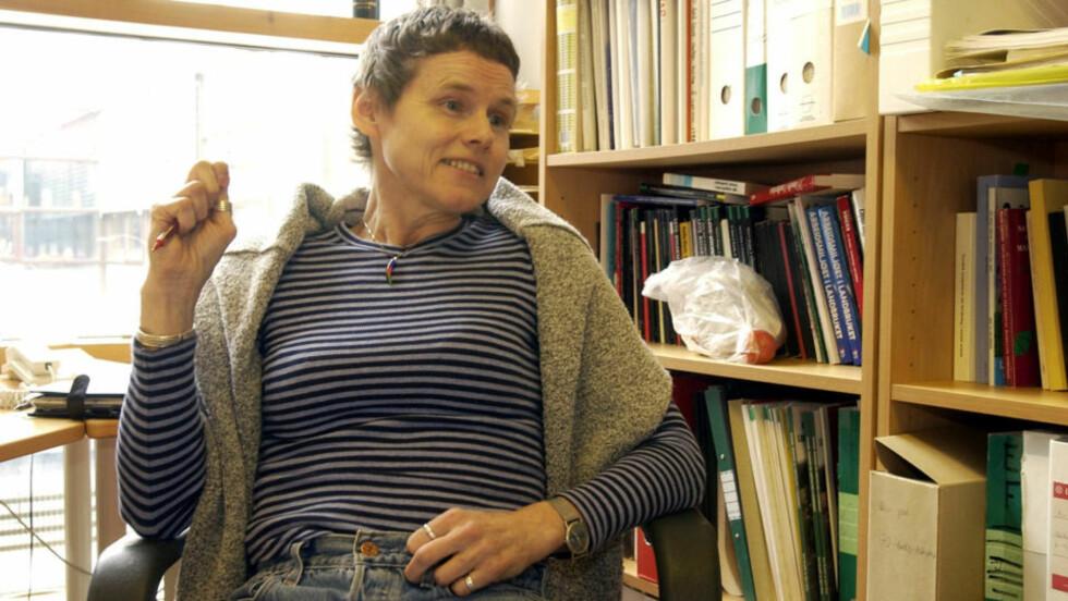 AGENDA? Agnes Bolsø er en av sosiologene som er med i «Hjernevask». Hva er disse forskernes agenda, spør professor i evolusjonsbiologi Eivin Røskaft.   Foto: Tom E. Østhuus.