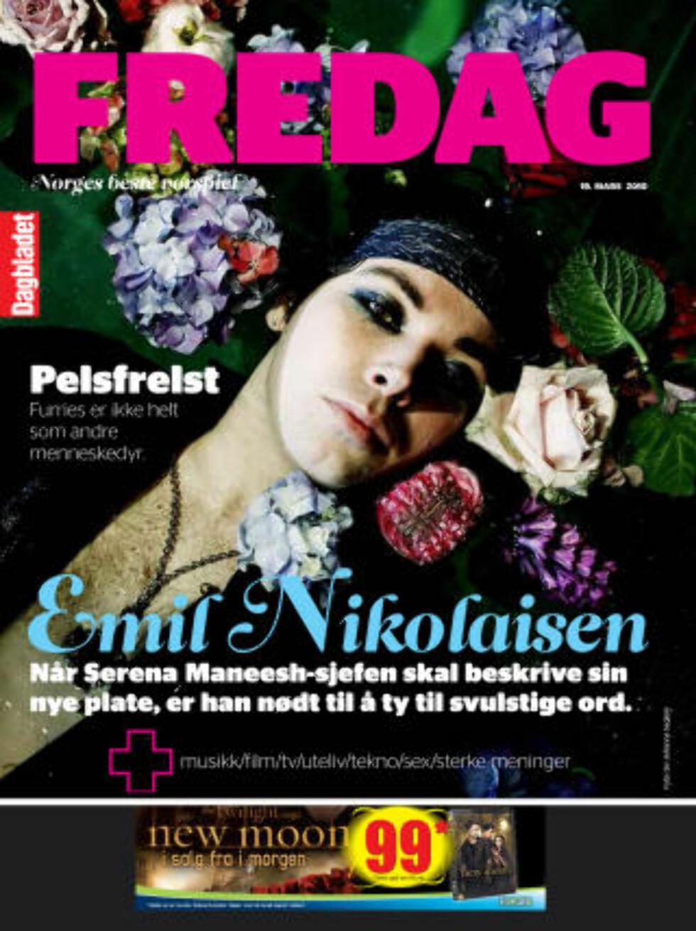 PÅ TRYKK: Reportasjen om de norske furriene står på trykk i siste FREDAG.