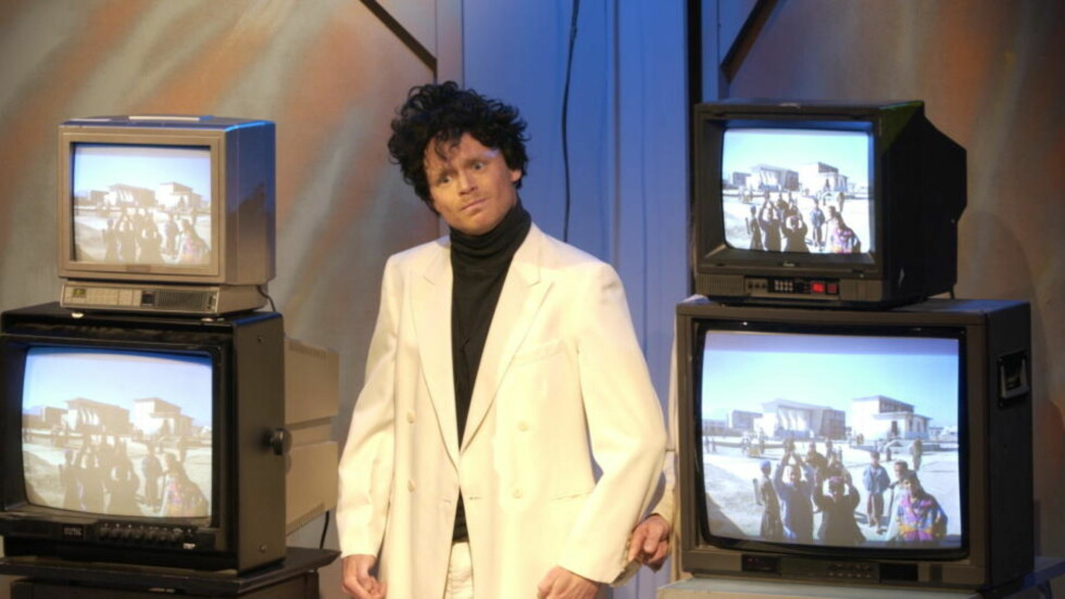 IKKE SERIØST FREMSTILT: Harald Eia burde holdt seg til humorprogrammene sine, mener Sævre.   Foto: Robert S. Eik