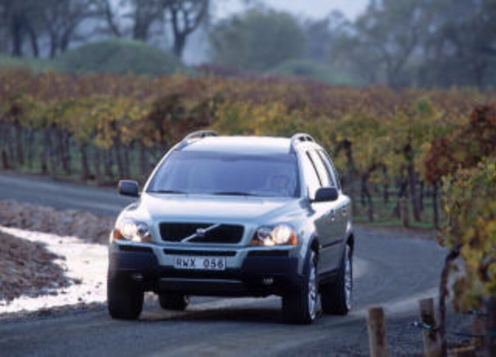 KOSTER CA 147 000 I ÅRET: Verdifallet er stort for dyrere biler som Volvo XC 90.