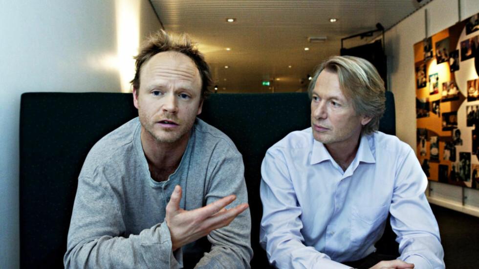 KARRIEREDRAP: Harald Eia har ødelagt Jørgen Lorentzens renommé, men nekter for at han hadde en mening med det. Foto: Nina Hansen