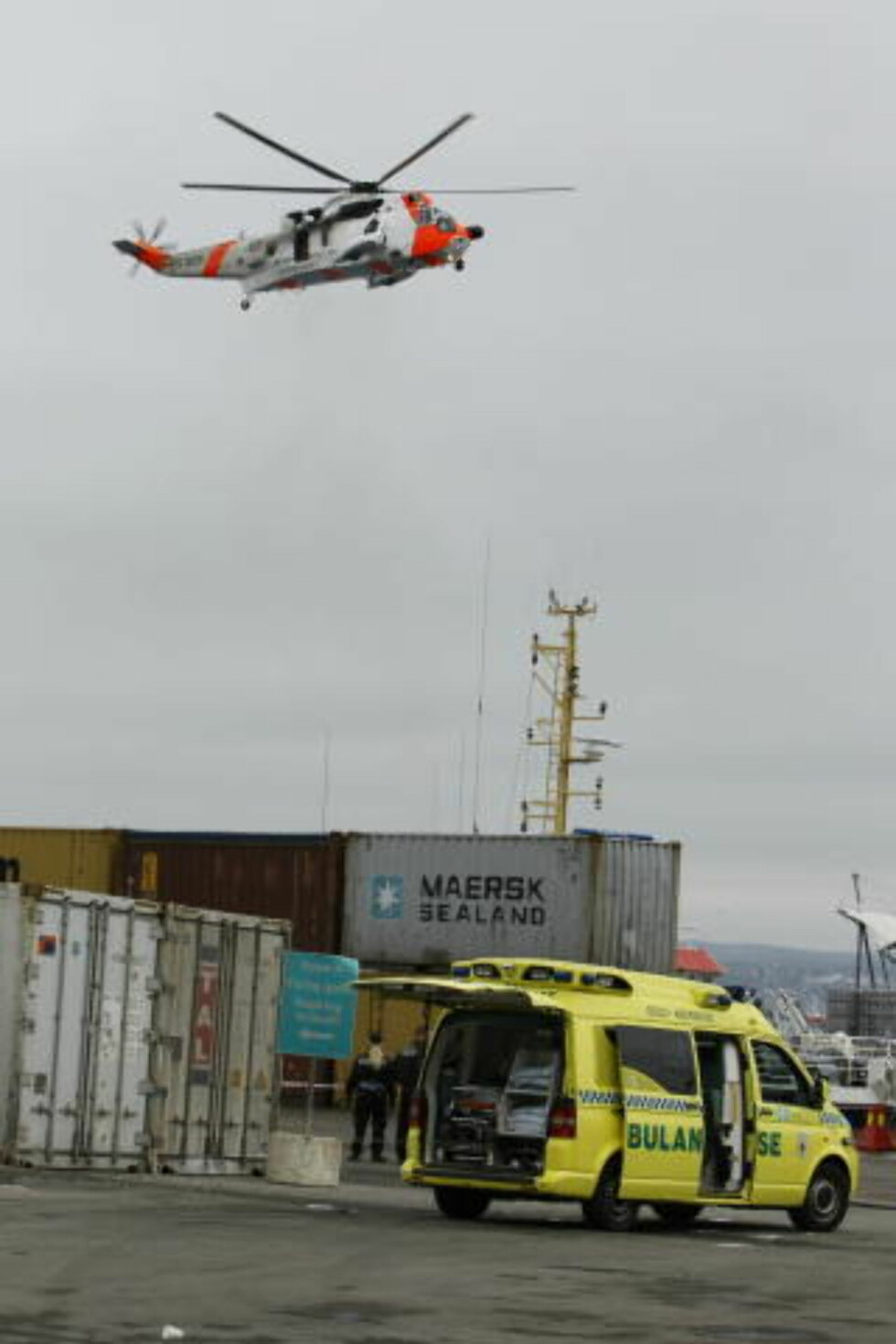 TRE DREPT: Tre personer er så langt bekreftet omkommet  flere er hardt skadd. Foto: Heiko Junge / SCANPIX