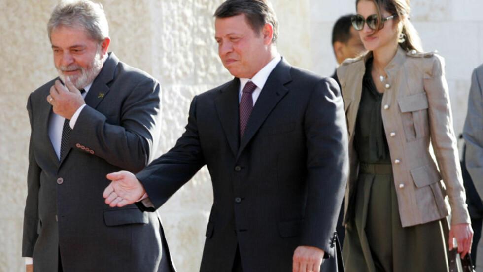 KRITISK: Kong Abdullah av Jordan mener israelerne leker med ilden. Foto: AFP