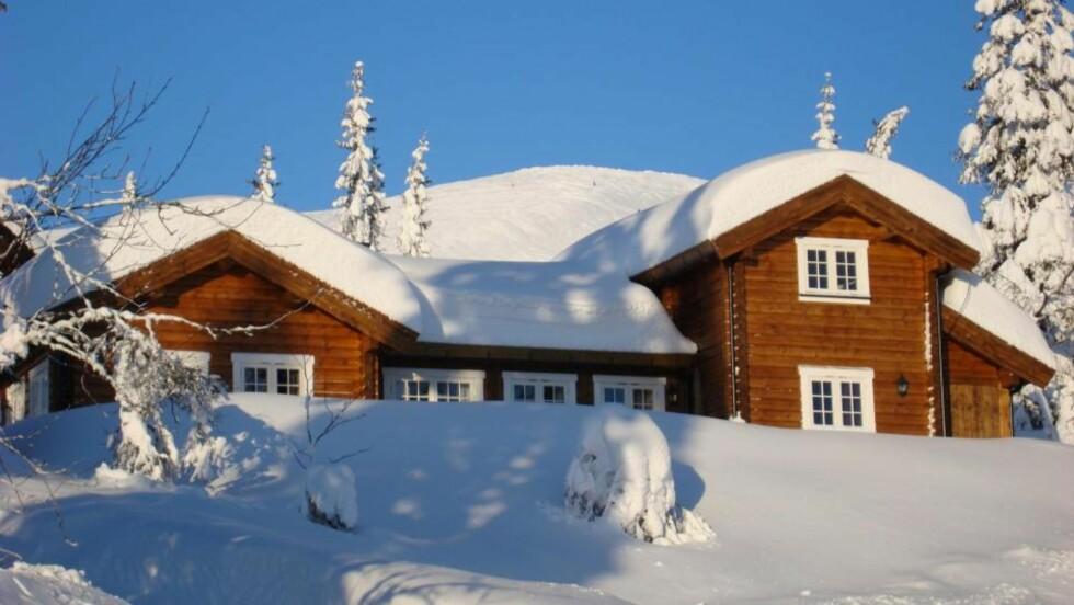 DRØMMEN OM HYTTE: Den norske hytta blir stadig større, og det blir stadig flere av dem.