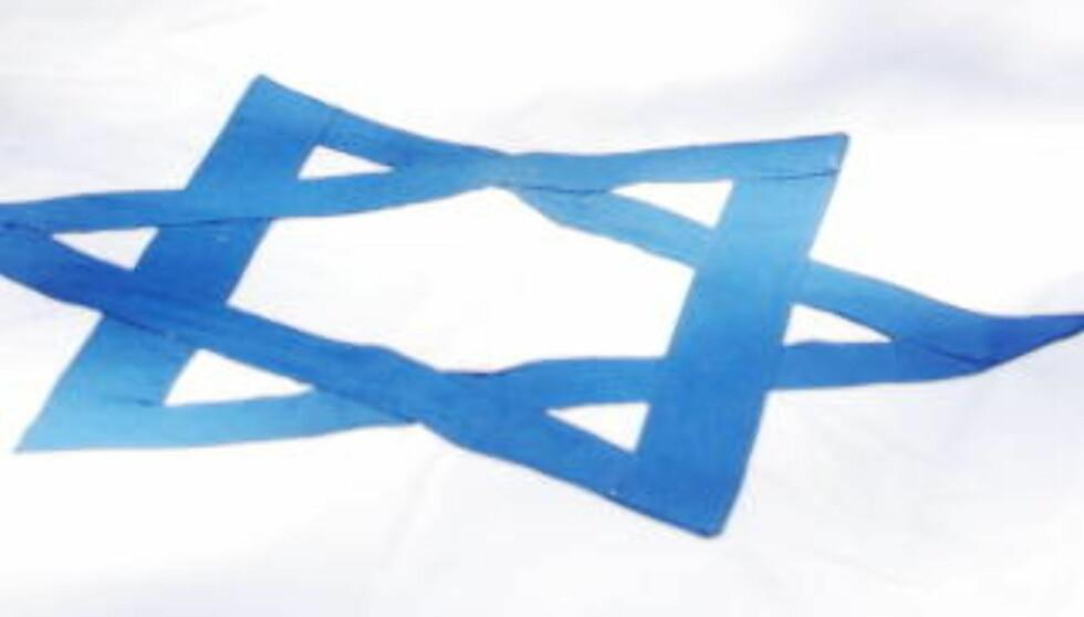 OMSTRIDT: Frp-Forslaget er omstridt. David-stjerna brukes blant annet i det israelske flagget.   Foto: Scanpix