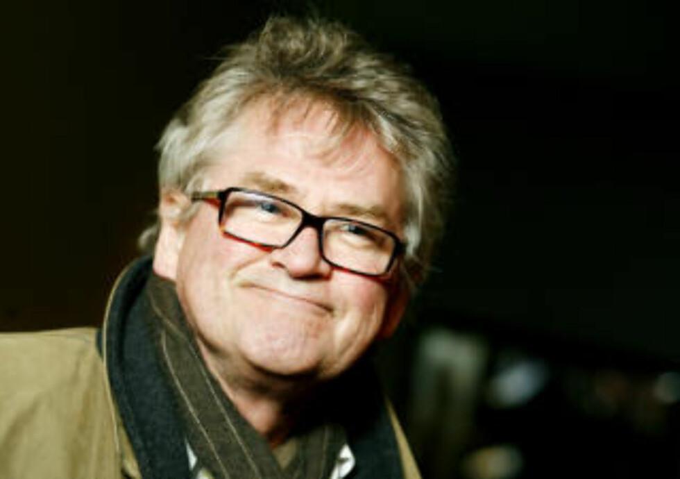 AV MED TV'N: Nils Vogt legger seg neppe, men lover TV-fri time. Foto: Sara Johannessen / SCANPIX