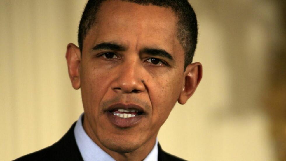GÅR TILBAKE PÅ VALGLØFTE: USAs president Barack Obama går nå inn for å bore etter olje eller gass til havs. Foto: Ørjan F. Ellingvåg / Dagbladet