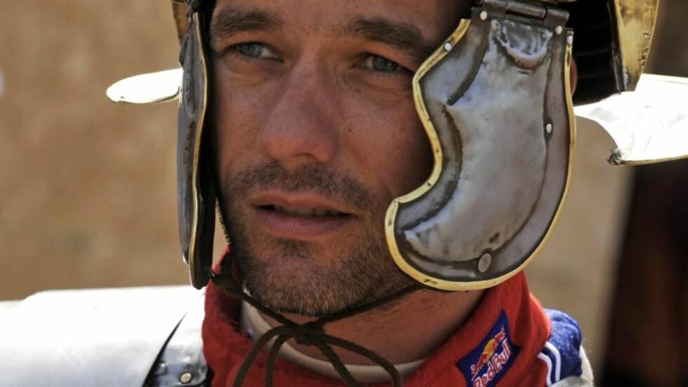 GLADIATOR: Sebastien Loeb of France erkjenner at Citroen gjør alt, også det som er på grensen av regelverket, for å vinne Rally Jordan.Foto: SCANPIX/EPA/RICHARD BALINT
