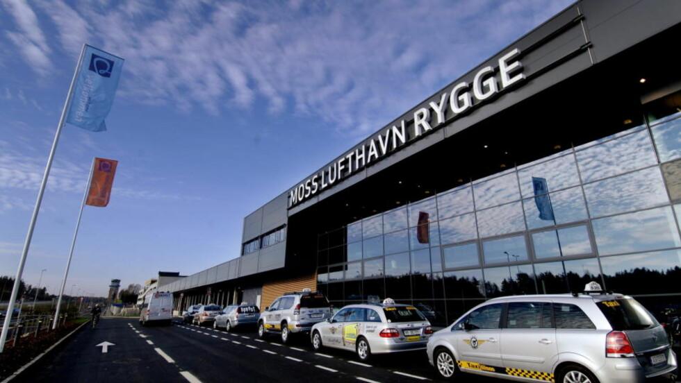 MOSS LUFTHAVN RYGGE:  Ryanair åpner sin første base i Norge på Moss Lufthavn Rygge. Foto: John Terje Pedersen