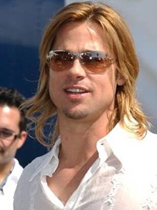 VEGANER: Brad Pitt er en av mange kjendiser som har frontet veganerbevegelsen. Foto: NTB SCANPIX