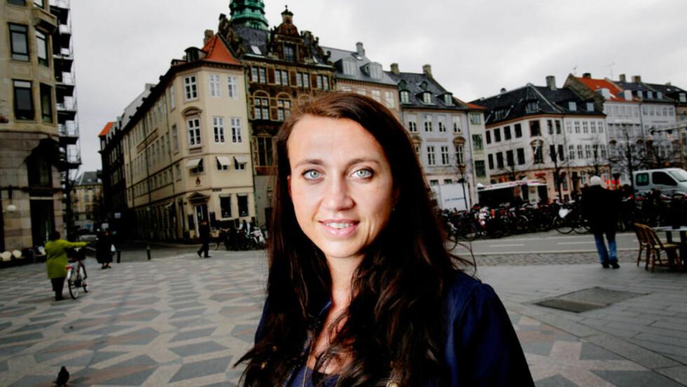 STERK KOST: Den ujevne og produktive forfatteren Camilla Läckberg imponerer med sin nye roman. Foto: Kristian Ridder-Nielsen