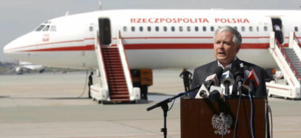 ULYKKESFLY: Sikkerhetsmessig har Tu-154 et noe frynsete rykte. De fleste ulykkene skyldes imidlertid menneskelig og ikke teknisk feil. Foto: Scanpix/Reuters