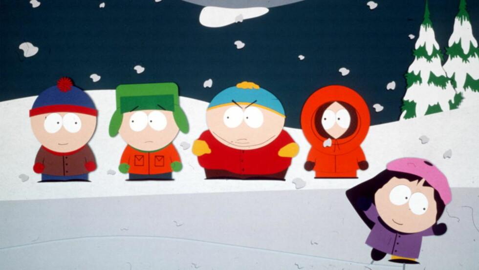POPULÆR SATIRE: Men nå er det noen som mener at skaperne bak «South Park» har gått for langt. Foto: Promobilde