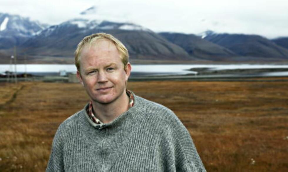 FRYKTER KONSEKVENSENE: Leder Lars Haltbrekken i Naturvernforbunden skremmes av utsiktene til et «oljebonanza» i nord.  Foto: Nina Hansen / Dagbladet