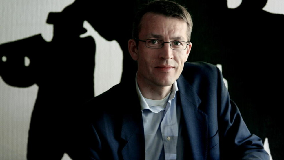 PRODUKTIV: Thrillerforfatter Eirik Wekre  er utdannet økonom og jobber som mekler. «Operasjon Isbjørn» er hans fjerde thriller. Steinar Buholm/Dagbladet.