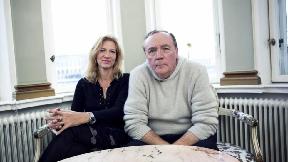 PINLIG: Det høyt profilerte samarbeidet mellom Liza Marklund og James Patterson er ikke akkurat blitt noen kunstnerisk suksess. Foto: Oskar Kullander