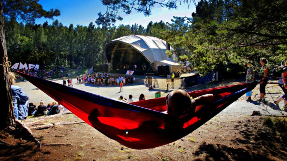 SØRLANDSIDYLL: Festivalen tror de idylliske omgivelsene har mye av skylda for hederen. Foto: LARS EIVIND BONES
